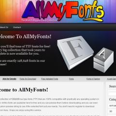 Photo : AllMyFonts : 128 000 polices à télécharger