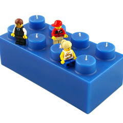 Photo : Bougies Lego