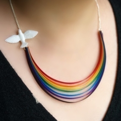 Photo : Collier Arc-en-ciel