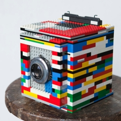 Image : Appareil photo en Legos