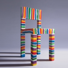 Photo : Chaise en sucre