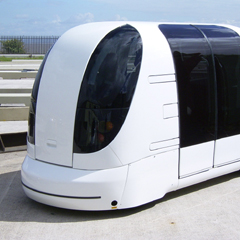 Photo : ULTra véhicule du futur