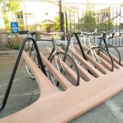 Photo : Peigne à vélos