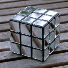 Rubik 39 s cube miroir for Cube miroir habitat