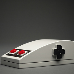 Photo : Souris pour Nintendo NES