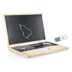 Photo : Laptop en bois