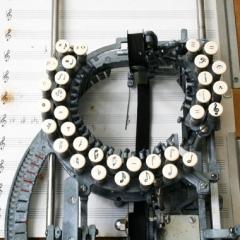 Photo : Machine à écrire la musique