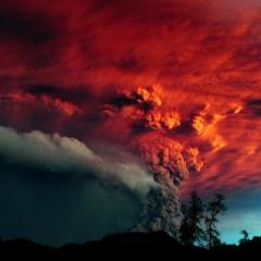 Photo : L'année en volcans