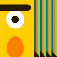 Photo : Sesame Street sauce Picasso