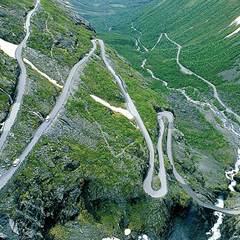Photo : Trollstigen : la Route des Trolls
