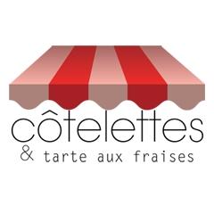 Image : Côtelettes & Tarte aux Fraises