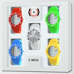 Montres interchangeables U-Switch