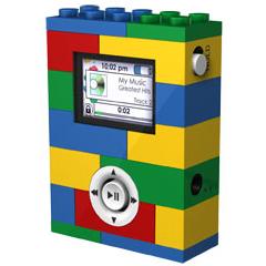 Photo : Lecteur MP3 Lego