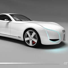 Photo : Audi D7