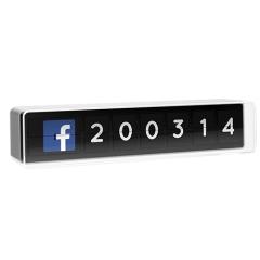 Image : Flapit, le compteur social IRL