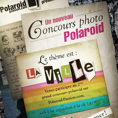 Photo : Concours photo Polaroid Passion