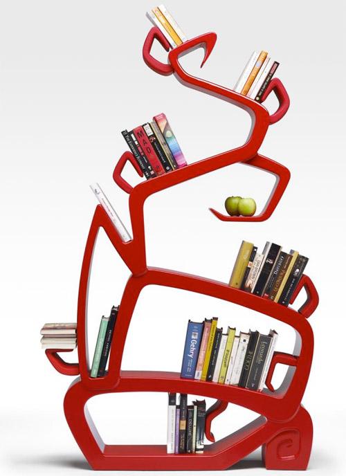 biblioth que arbre wisdomtree. Black Bedroom Furniture Sets. Home Design Ideas