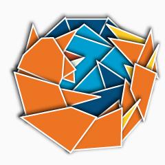 Photo : Origami du web 2.0