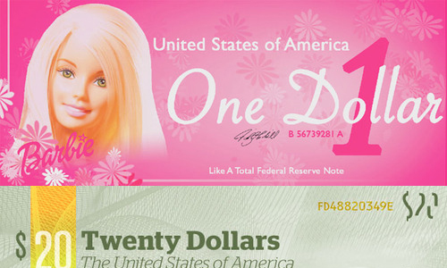 dollar Barbie ?