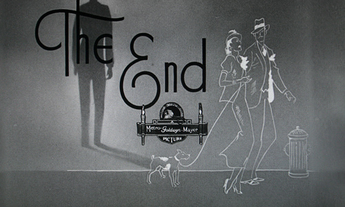 the end au générique de fin