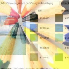 Photo : Générer une palette de couleurs depuis une image