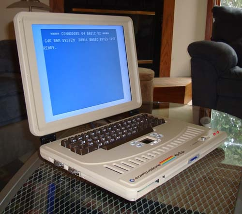 Un bon vieux commodore 64 version portable !