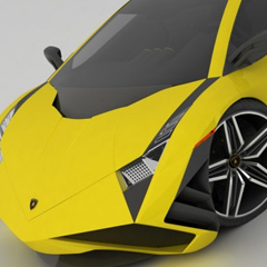 Photo : Lamborghini par Emil Baddal