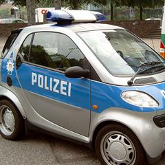 Photo : La police aime la Smart !
