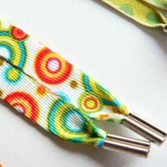 Photo : Lacets Pop multicolores
