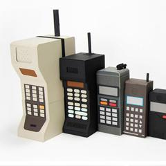 Photo : Evolution de la taille des portables