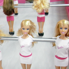 image Barbie Foot