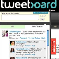 Photo : Tweetboard