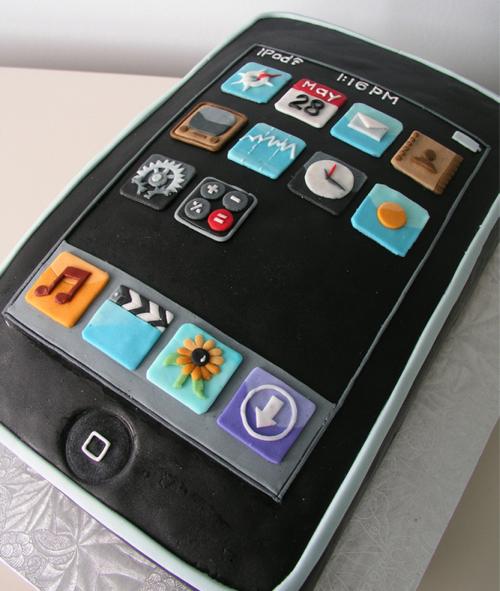 Gâteau En Forme D'iPod Apple