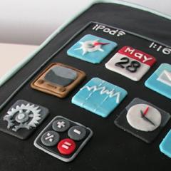 Photo : Gâteau iPod