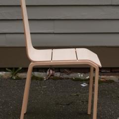 Photo : Chaise en cinq mouvements