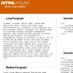 Photo : HTML Ipsum