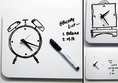 horloge tableau effa able. Black Bedroom Furniture Sets. Home Design Ideas