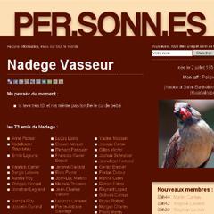 Photo : Per.sonn.es, réseau social fictif
