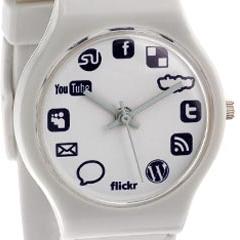 Photo : Montre Sociale Social Networking