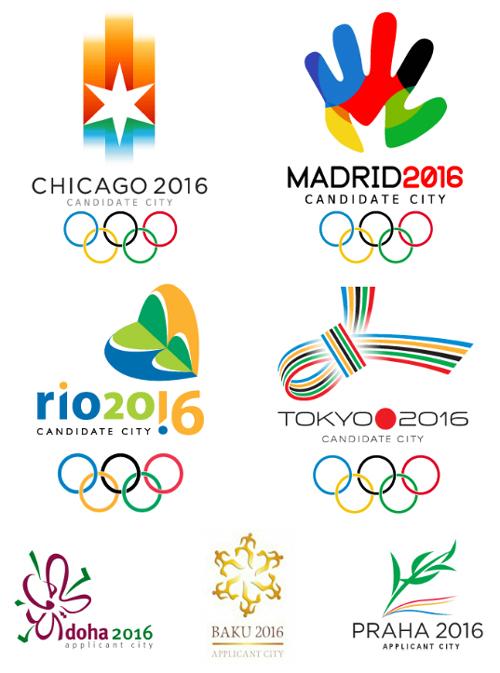logos pour Jeux Olympiques 2016