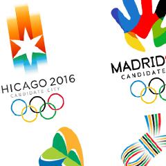 Photo : Jeux Olympiques 2016 en logos