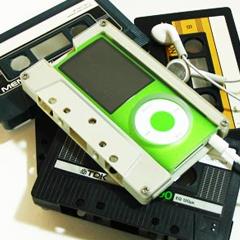 Photo : Boîtiers K7 pour iPod nano