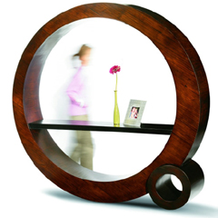 Photo : Etagere circulaire Bubble