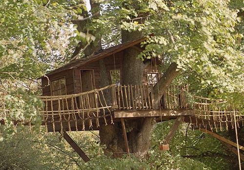 maison dans les arbres amazon treehouses des cabanes perch es. Black Bedroom Furniture Sets. Home Design Ideas