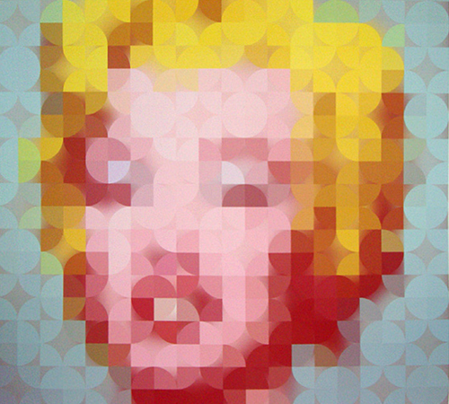 art minimaliste Marylin