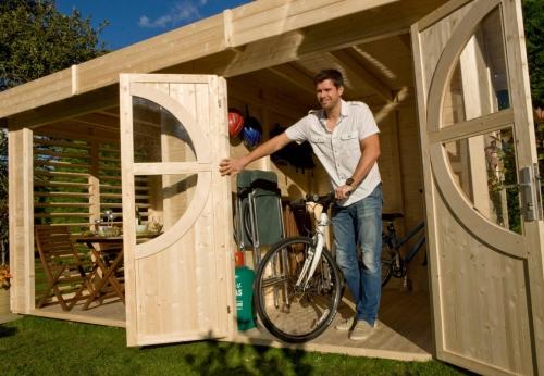 Maxi abri de jardin design cosy et dehors for Cabane jardin design
