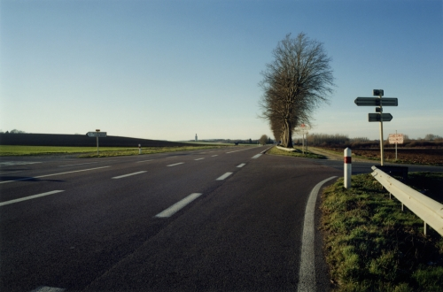 photo : route de l'accident de Albert Camus