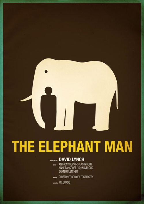 Affiche Elephant Man par Chris Thornley