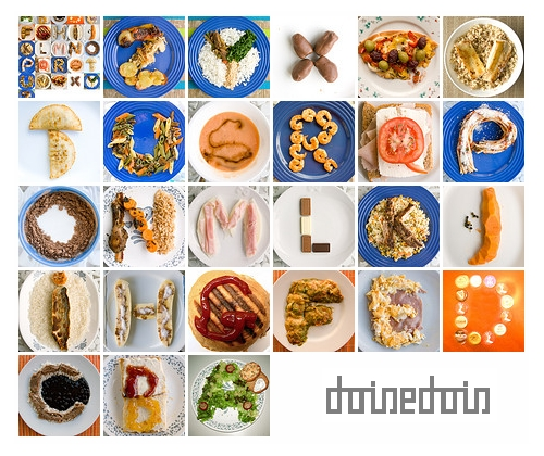 photo de l'alphabet comestible Eatphabet