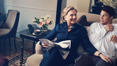 Average Rob et Hillary Clinton